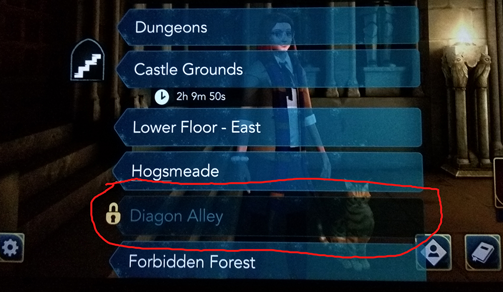Hogwarts Mystery Diagon Alley Released