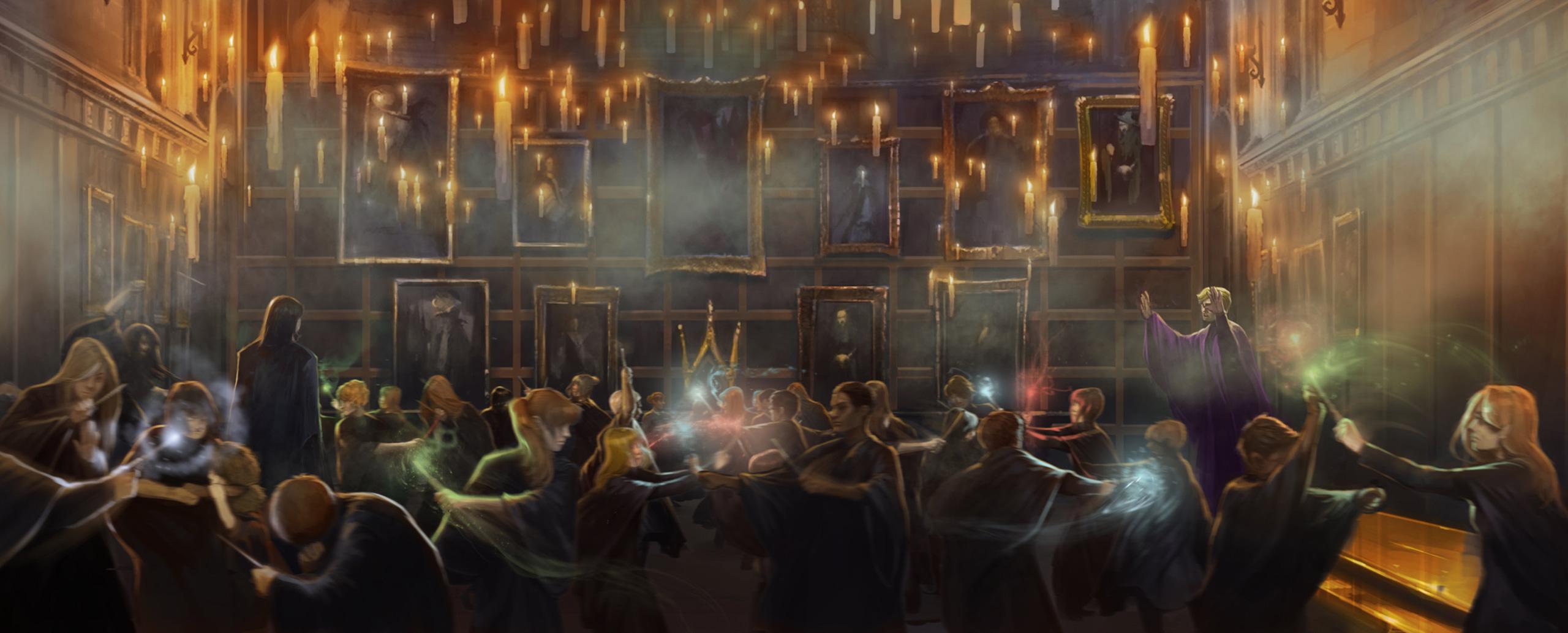 Hogwarts Mystery duelling club background image