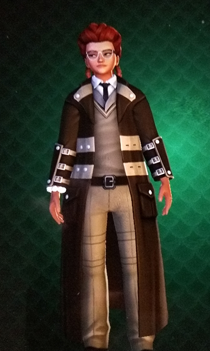 Clothing reward for the second Harry Potter: Hogwarts Mystery Duelling Club event