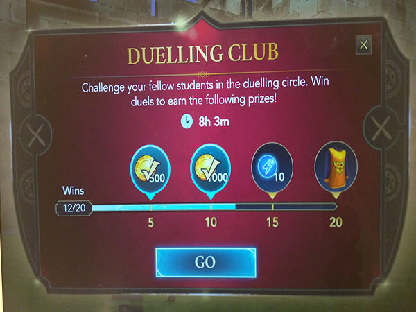 Hogwarts mystery fourth duelling club event