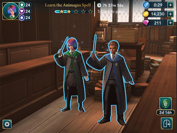 learn animagus spell in hogwarts mystery
