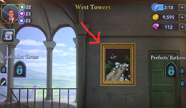 West Towers free energy painting location