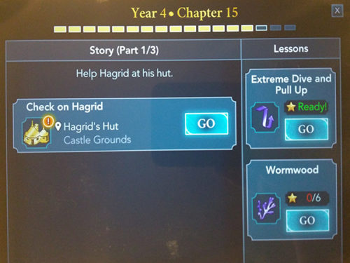 hogwarts myster year 4 chapter 15 released