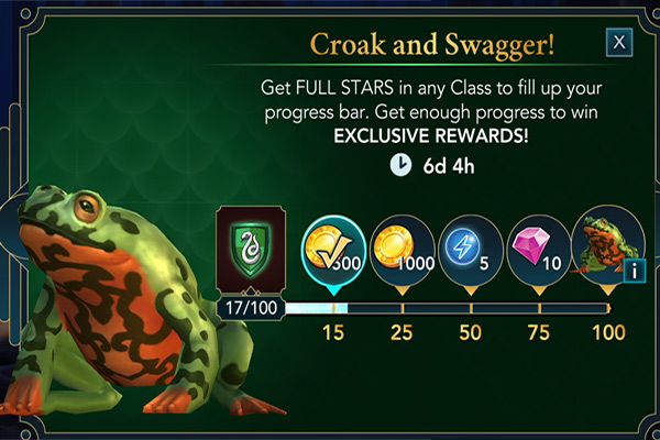 hogwarts mystery croak and swagger event
