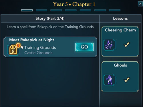 hogwarts mystery year five released