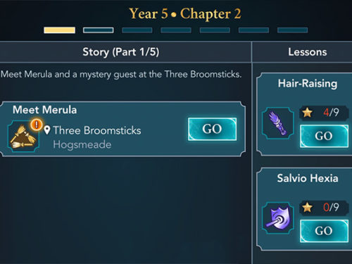 hogwarts mystery year 5 chapter 2