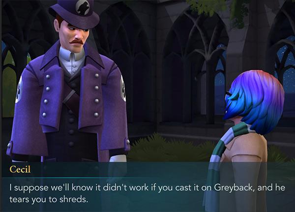 hogwarts mystery casting homorphus charm