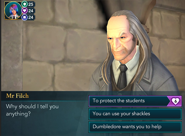 hogwarts mystery halloween east event filch quest