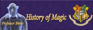 history of magic guide for hogwarts mystery