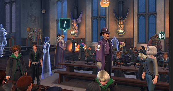 hogwarts mystery second halloween feast