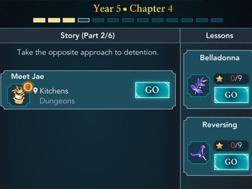 hogwarts mystery year 5 chapter 4