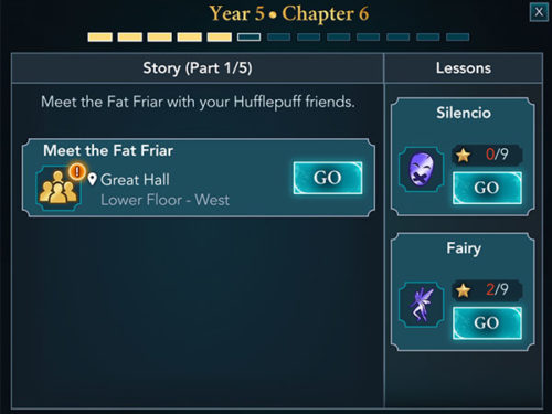 year 5 chapter 6 harry potter hogwarts mystery
