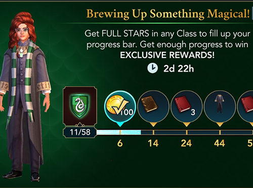 hogwarts mystery brewing up something magical event