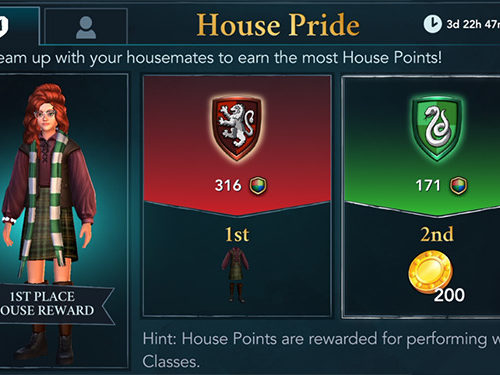hogwarts mystery november house pride event