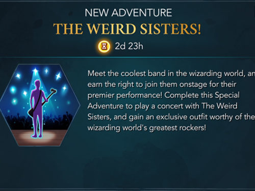 weird sisters band adventure hogwarts mystery
