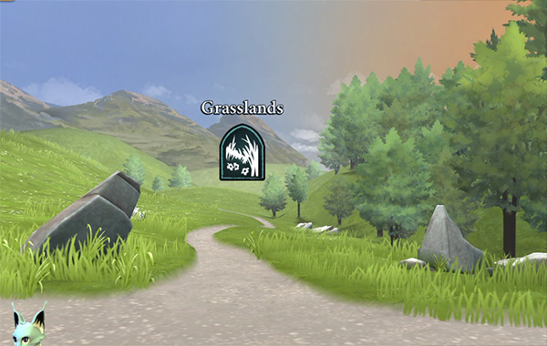 grasslands location in harry potter hogwarts mystery