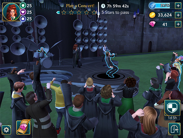 weird sisters concert at hogwarts
