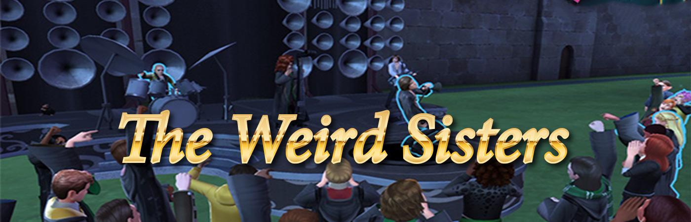 hogwarts mystery weird sisters banner