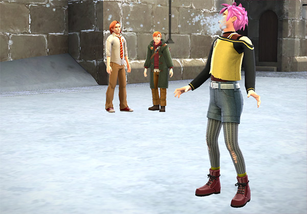 bewitch snowballs with tonks in hogwarts mystery