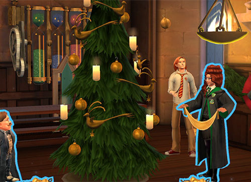 hogwarts mystery new christmas activity