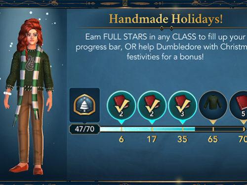 hogwarts mystery handmade holidays event
