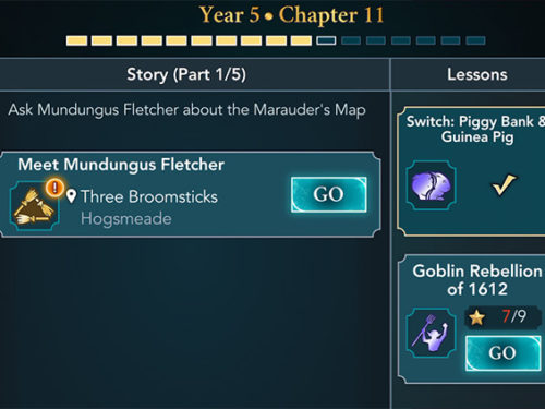 hogwarts mystery year 5 chapter 11