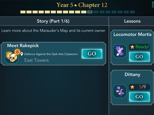 hogwarts mystery year 5 chapter 12