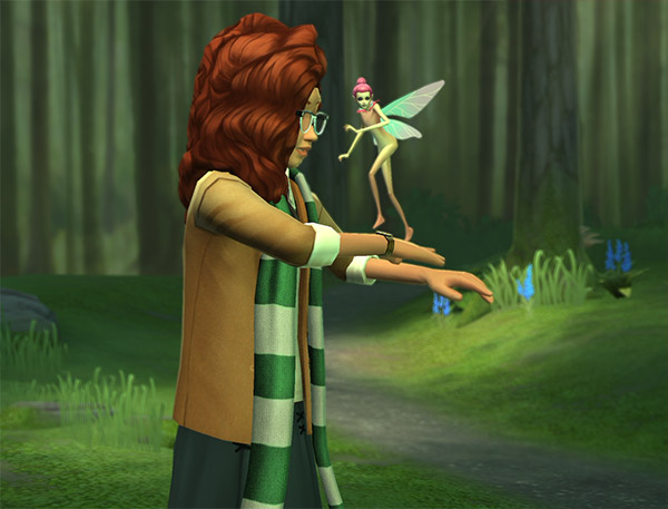 hogwarts mystery max level magizoology fairy