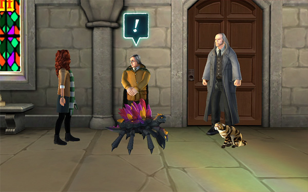 save filch and mrs norris from fire crab
