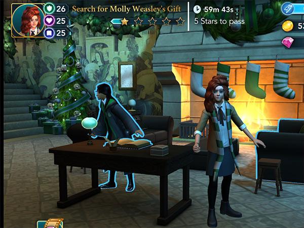 hogwarts mystery molly weasley christmas gift
