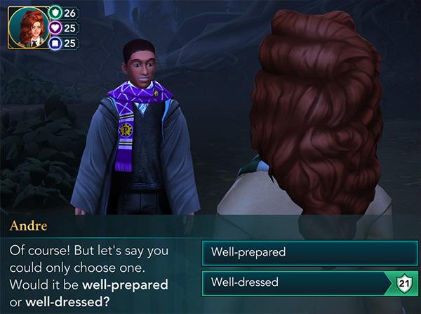 find knotgrass knightly trial hogwarts mystery