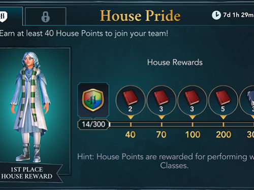house pride event hogwarts mystery