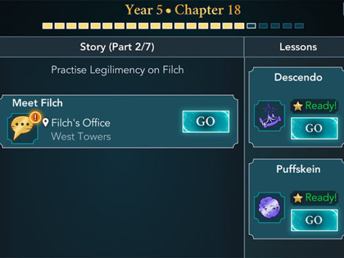 hogwarts mystery year 5 chapter 18 quest
