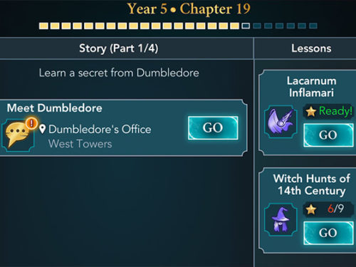hogwarts mystery year 5 chapter 19