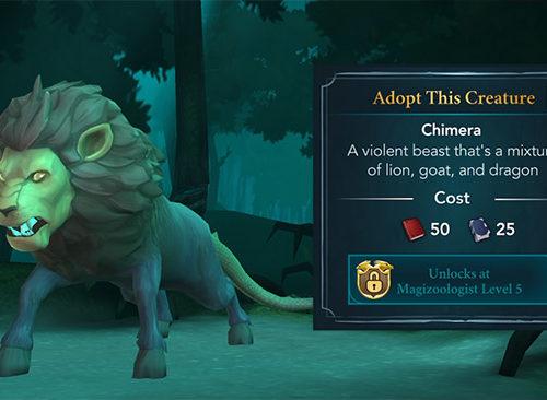 adopt chimera hogwarts mystery