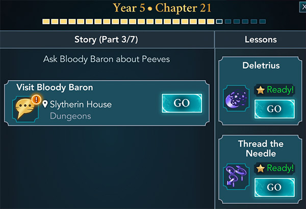 hogwarts mystery year 5 chapter 21