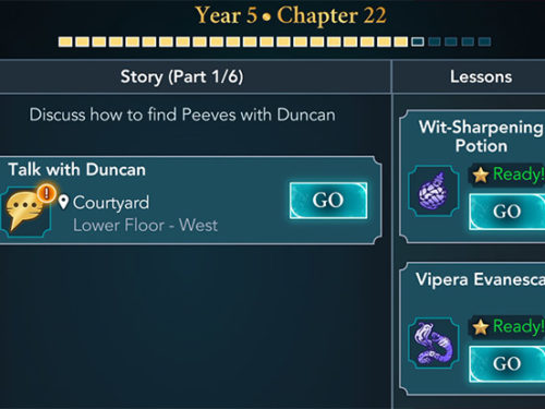 hogwarts mystery year 5 chapter 22 activities