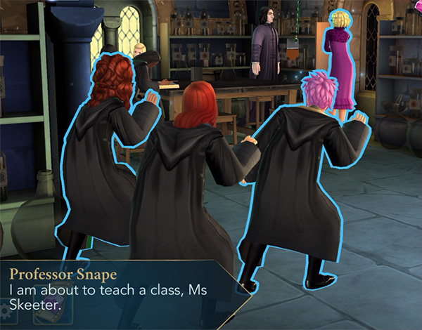 quick quotes quill prank hogwarts mystery