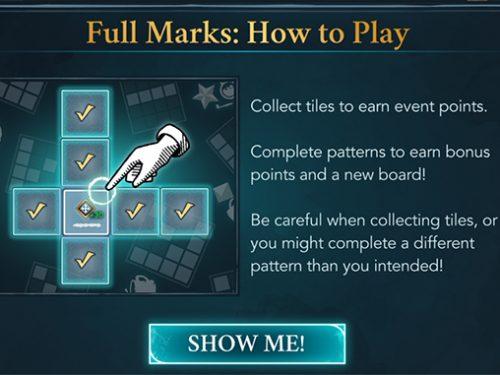 hogwarts mytsery full marks event