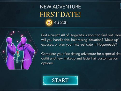 hogwarts mystery first date