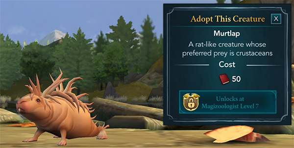 adopt murtlap at the magical creature reserve