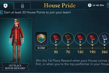 hogwarts mystery house pride september event