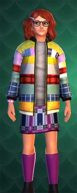 new cosmetic multi color hogwarts mystery jacket