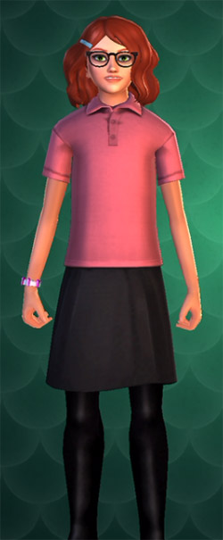 pink polo shirt cosmetic for 2250 coins