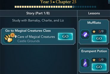 hogwarts mystery year 5 chapter 25 quests