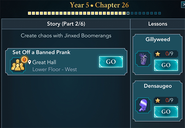 hogwarts mystery year 5 chapter 26