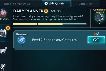 hogwarts mystery daily planner