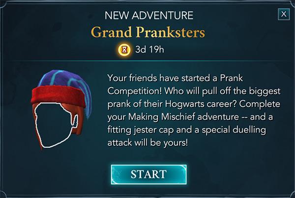 hogwarts mystery grand pranksters adventure