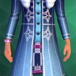 blue winter themed hogwarts mystery jacket